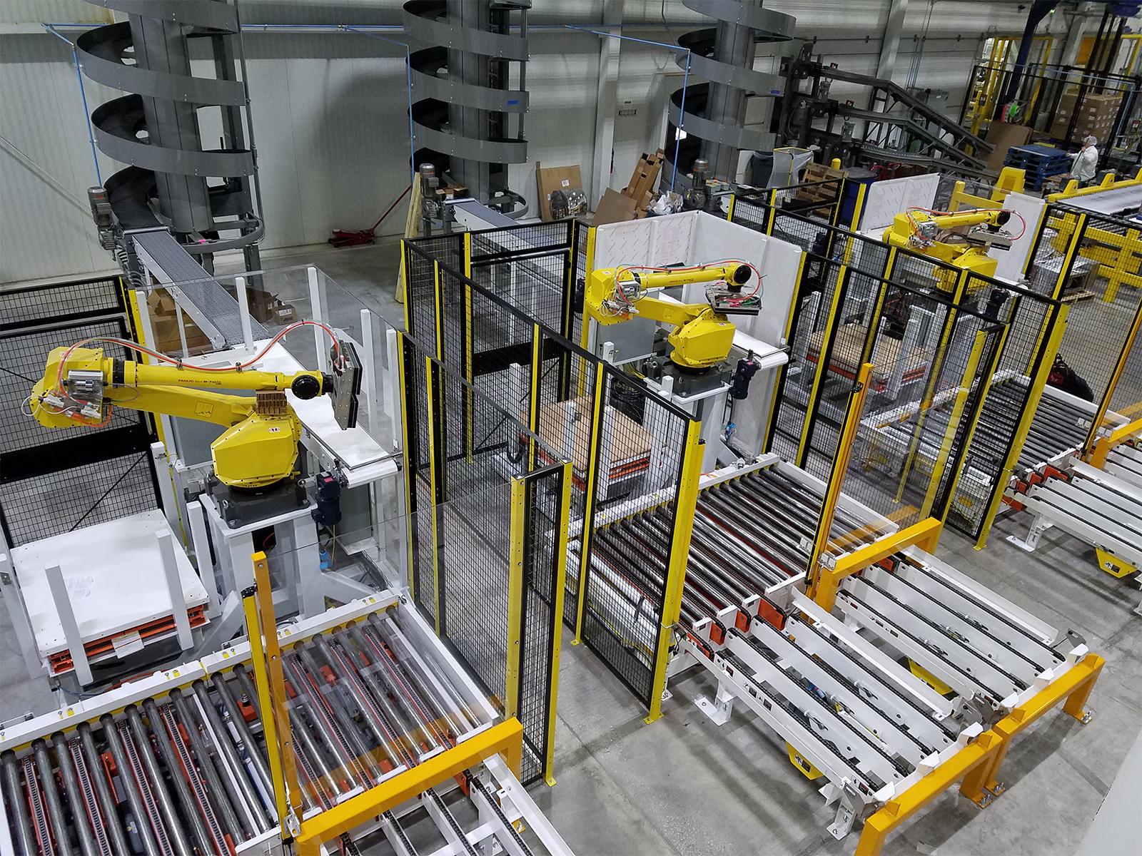 Quest Boxed Bot - Robotic Palletizer Series - Robotic Palletizers
