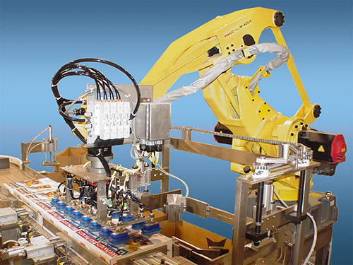 Robotic Case Packers Product Brenton