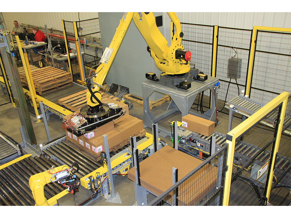 Robotic Palletizing Pallet Wrapping Successful Nephron - White Papers & Articles