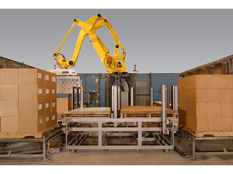 Robotic Palletizing System Currie Brenton