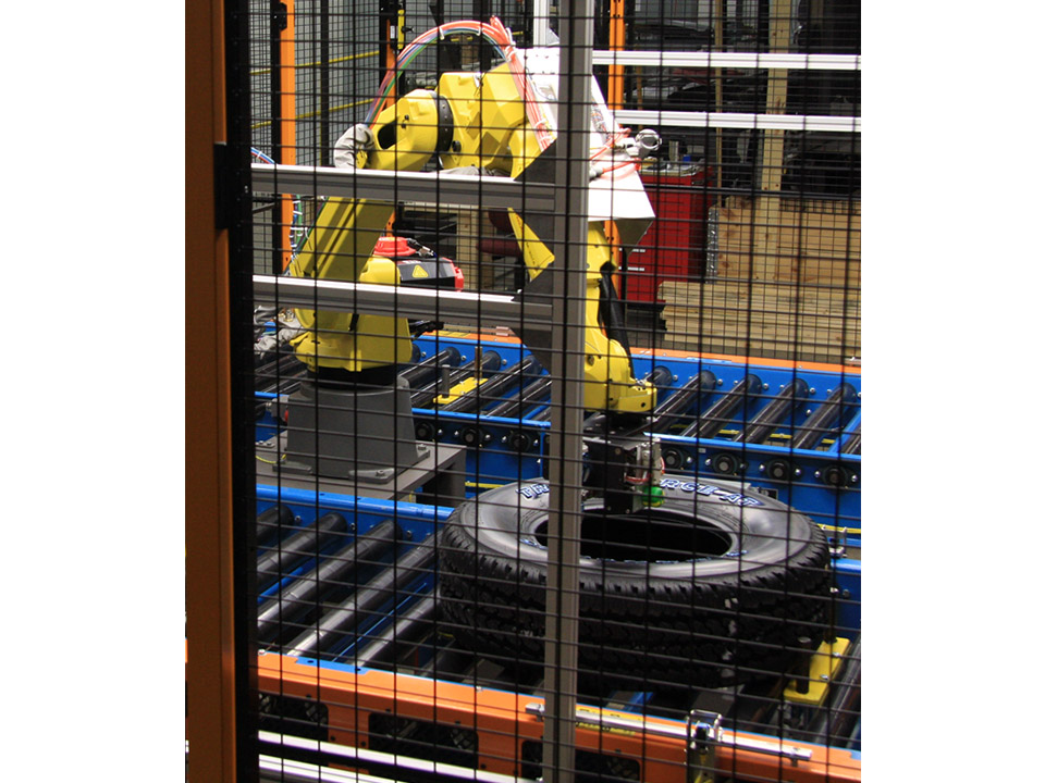 Robotic Tire Painter System Brenton