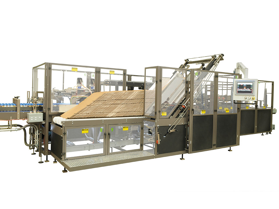 Servo Continuous Motion Case Packer - M4000 - Side Load Case Packers